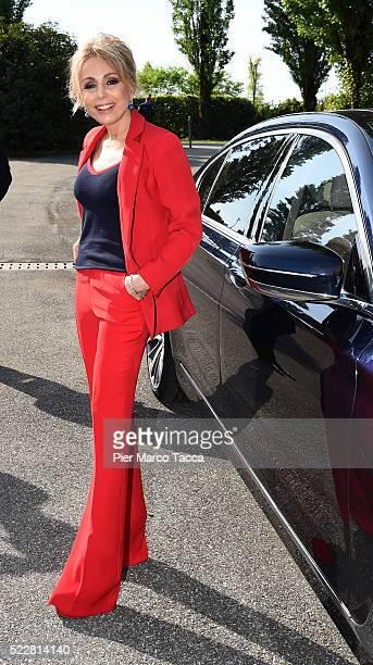 President of Mondadori SpA Marina Berlusconi attends the Mondadori annual shareholders' meeting on April 21 2016 in Segrate Italy