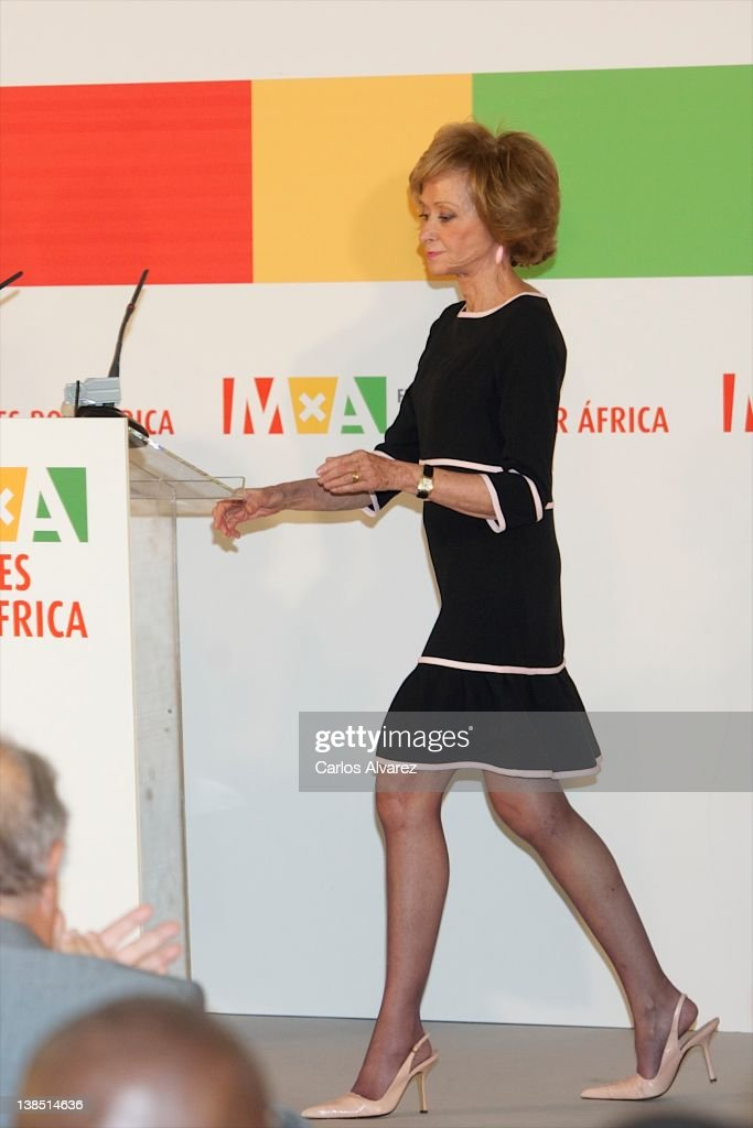 Queen Sofia of Spain Attends 'Mujeres Por Africa' Presentation at Reina Sofia Museum