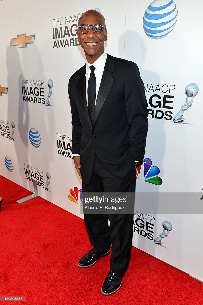 President of Music Programming and Specials - BET Stephen G. Hill attends the 44th NAACP Image Awards at The Shrine Auditorium on February 1, 2013 in Los Angeles, California.