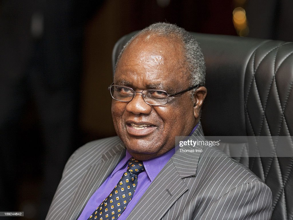 President of Namibia <a gi-track='captionPersonalityLinkClicked' href=/galleries/search?phrase=Hifikepunye+Pohamba&family=editorial&specificpeople=863215 ng-click='$event.stopPropagation()'>Hifikepunye Pohamba</a>, February 5, 2010 in Windheok, Namibia.