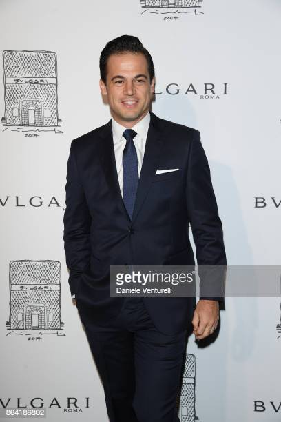 President of North America at Bulgari Daniel Paltridge attends a party to celebrate the Bvlgari Flagship Store Reopening on October 20 2017 in New...
