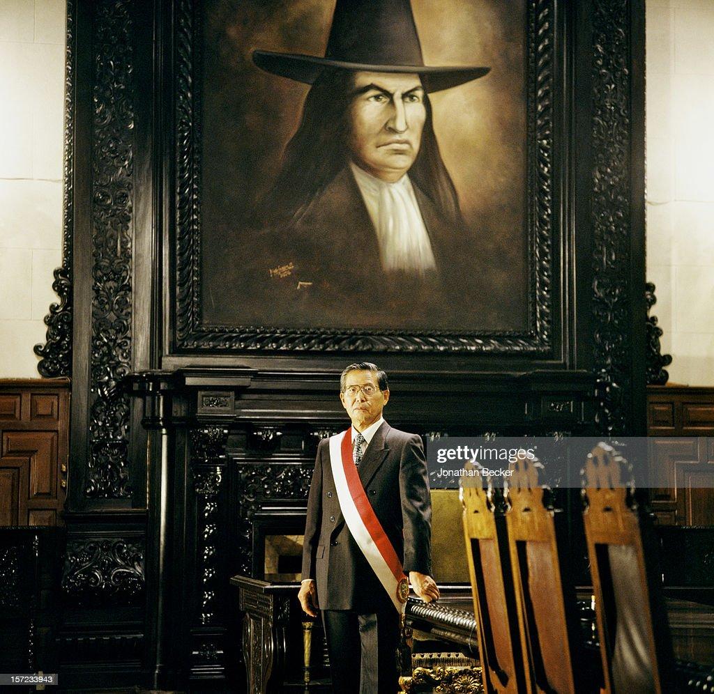 Alberto Fujimori, Vanity Fair, November 1, 1997