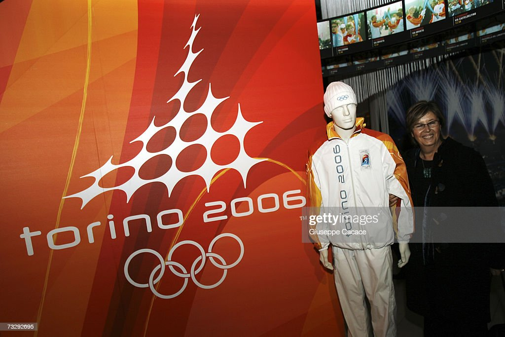 President of Piemonte Region Mercedes Bresso poses at the opening ceremony for the Olympic Museum at Atrium on February 10, 2007 in Turin, Italy.