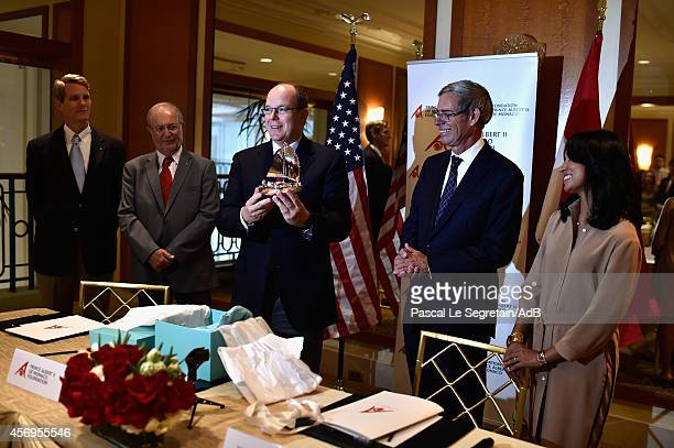 President of Prince Albert II foundation USA John BKelly Vice President and CEO of the Prince Albert II of Monaco Bernard Fautrier Prince Albert II...