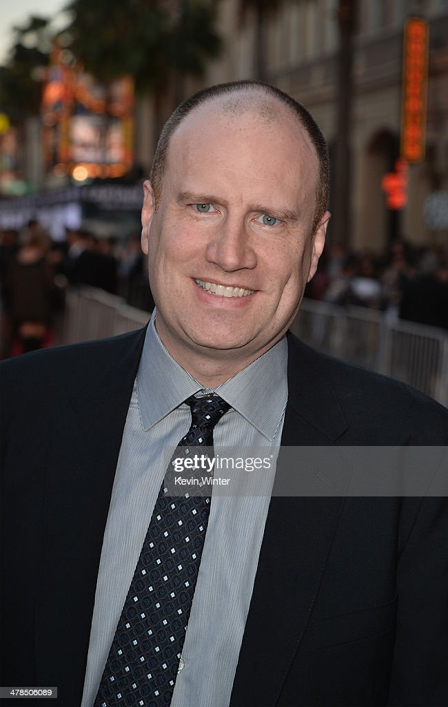 President of Production at Marvel Studios <a gi-track='captionPersonalityLinkClicked' href=/galleries/search?phrase=Kevin+Feige&family=editorial&specificpeople=2262351 ng-click='$event.stopPropagation()'>Kevin Feige</a> attends the premiere of Marvel's 'Captain America: The Winter Soldier' at the El Capitan Theatre on March 13, 2014 in Hollywood, California.