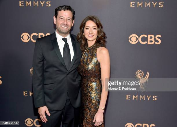 President of Programming AE Networks Rob Sharenow and Stacey Creem attend the 69th Annual Primetime Emmy Awards at Microsoft Theater on September 17...
