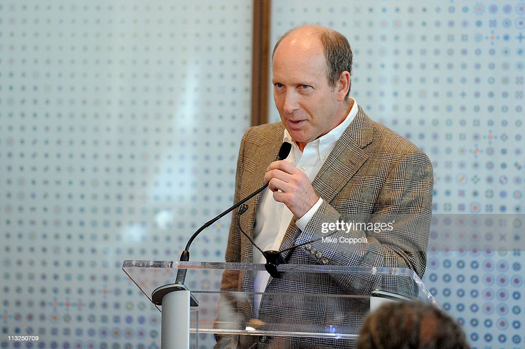 President of Programs at the Sloan Foundation Doron Weber speaks at the TFI Awards Ceremony during the 2011 Tribeca Film Festival at Riverpark on...