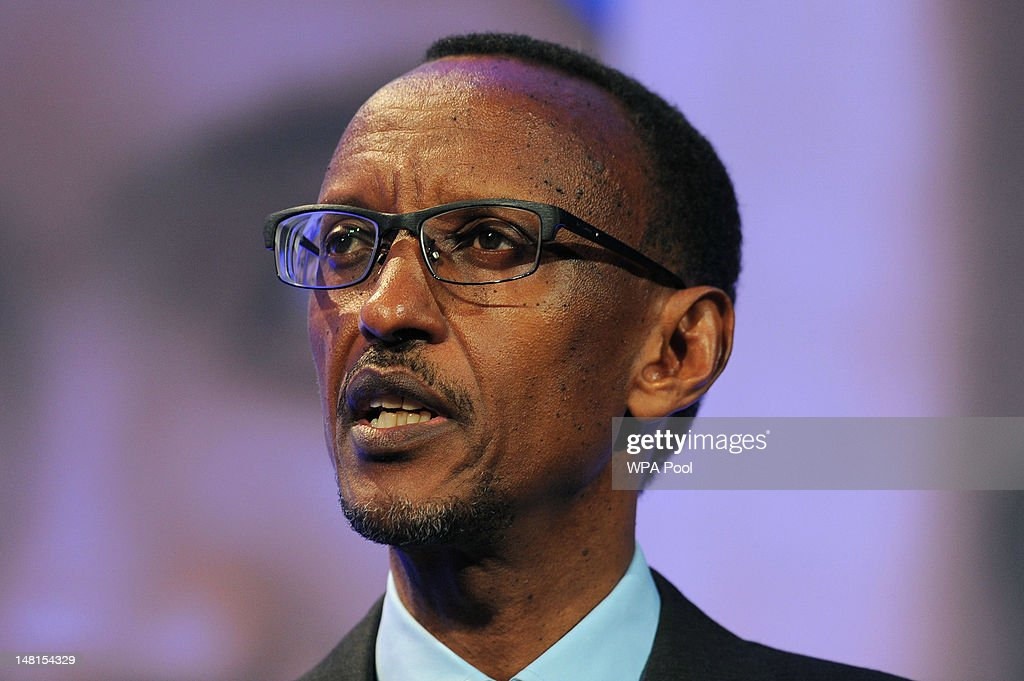 President of Rwanda, <a gi-track='captionPersonalityLinkClicked' href=/galleries/search?phrase=Paul+Kagame&family=editorial&specificpeople=601832 ng-click='$event.stopPropagation()'>Paul Kagame</a> speaks during the London Summit on Family Planning on July 11, 2012 in London, England. The London Summit on Family Planning is organised by the Bill & Melinda Gates Foundation with the UNFPA (United Nations Population Fund) to mobilise global policy and to support the rights of women across the world with contraceptive information and services.