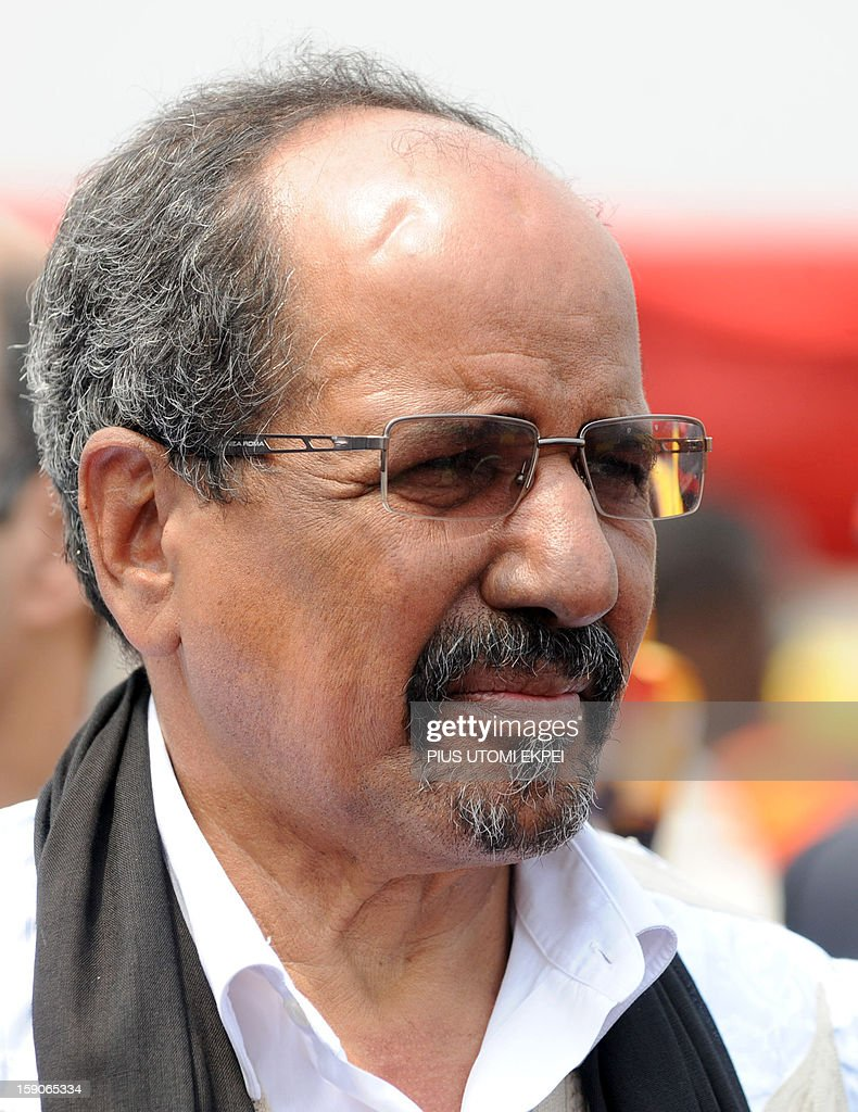 President of Sahrawi Arab Democratic Republic Mohamed Abdelaziz is pictured as he arrives to attend the inauguration of Ghanaian President John Mahama at the Independence Square, Accra in January 7. 2013. Ghanaian President John Dramani Mahama has been sworn-in into office despite a court challenge by the main opposition New Patriotic party, citing alleged voting fraud resulting in the absence of party officials at the swearing-in ceremony attended by nine heads of state.