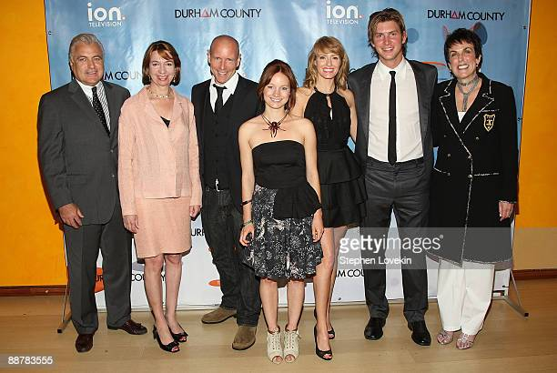 President of sales and marketing for ION Television Steve Appel chief marketing officer for ION Television Eleo Hensleigh actor Hugh Dillon actress...