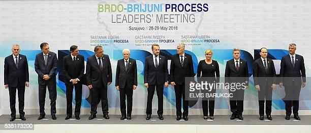 President of Serbia Tomislav Nikolic President of Montenegro Filip Vujanovic President of Slovenia Borut Pahor Member of the Tripartite Bosnian...