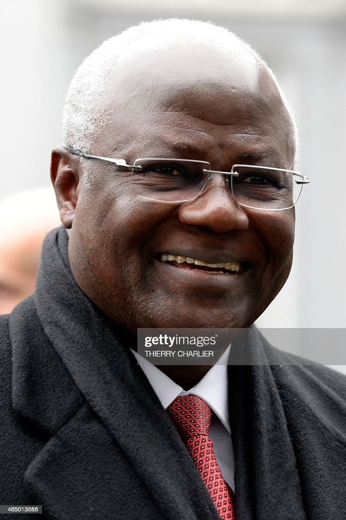 President of Sierra Leone <a gi-track='captionPersonalityLinkClicked' href=/galleries/search?phrase=Ernest+Bai+Koroma&family=editorial&specificpeople=4447998 ng-click='$event.stopPropagation()'>Ernest Bai Koroma</a> arrives to attend a conference on Ebola on March 3, 2015 in Brussels. Leaders of Ebola-hit countries in west Africa attend an international conference in Brussels on March 3 to mobilise a final push to end the outbreak and ensure the delivery of nearly $5 billion in aid pledges.