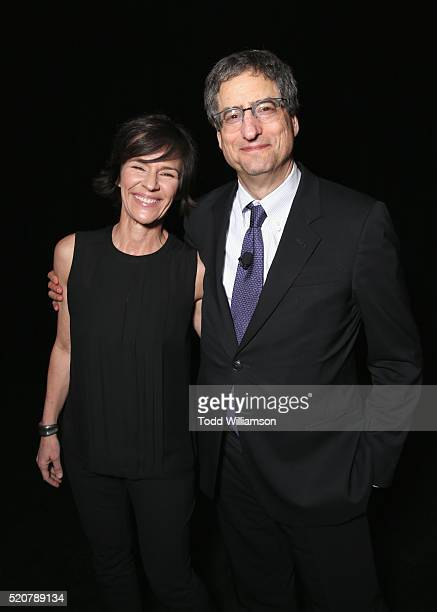 President of Sony Pictures Animation Kristine Belson and Chairman of Sony Picture Entertainment's Motion Pictures Group Tom Rothman attend CinemaCon...