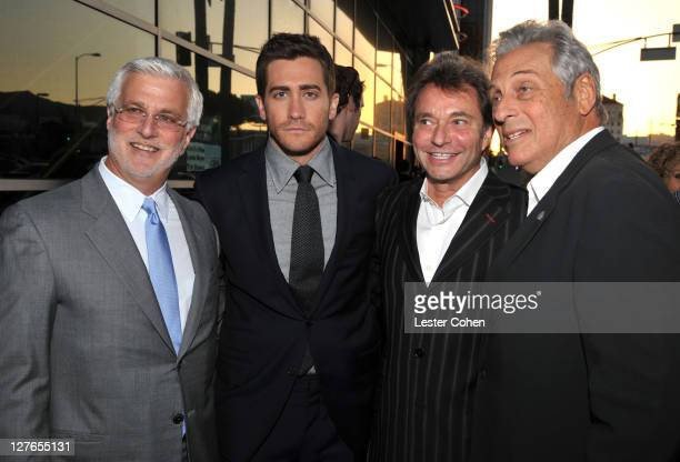 President of Summit Entertainment Rob Friedman actor Jake Gyllenhaal President and CEO of Summit Entertainment Patrick Wachsberger and executive...