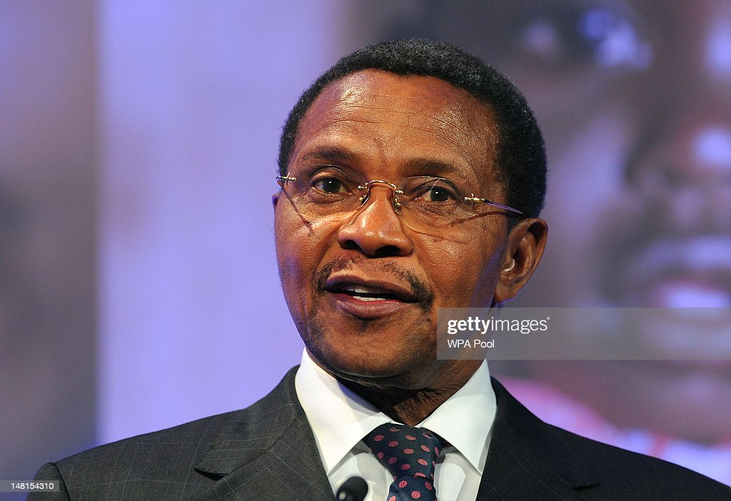 President of Tanzania, <a gi-track='captionPersonalityLinkClicked' href=/galleries/search?phrase=Jakaya+Kikwete&family=editorial&specificpeople=547422 ng-click='$event.stopPropagation()'>Jakaya Kikwete</a> speaks during the London Summit on Family Planning on July 11, 2012 in London, England. The London Summit on Family Planning is organised by the Bill & Melinda Gates Foundation with the UNFPA (United Nations Population Fund) to mobilise global policy and to support the rights of women across the world with contraceptive information and services.