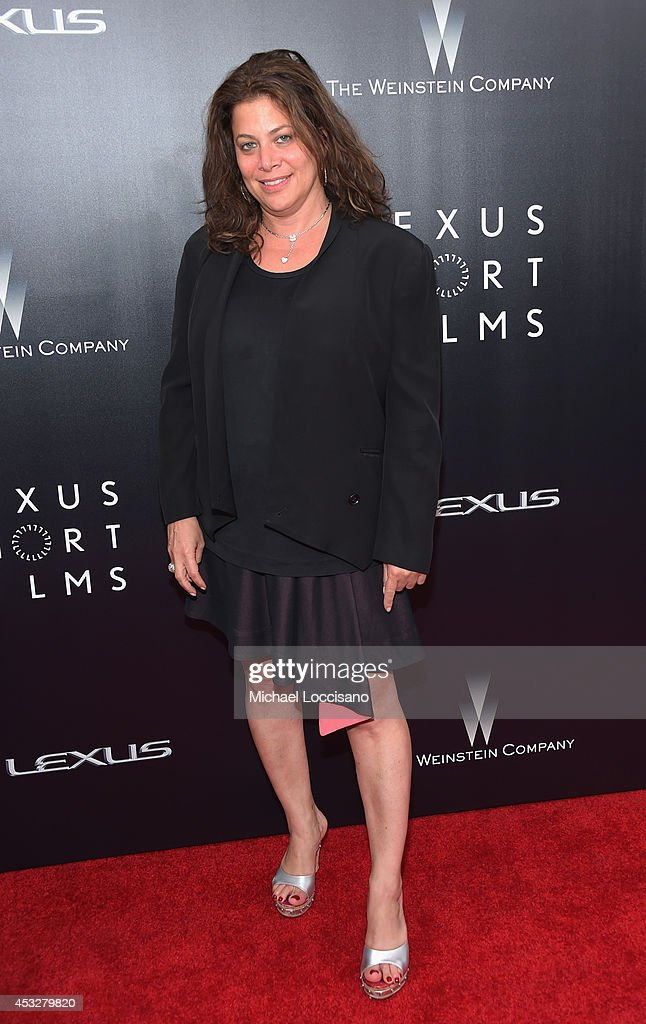 President of television production, The Weinstein Company Meryl Poster attends the 2nd Annual Lexus Short Films 'Life is Amazing' New York premiere presented by The Weinstein Company and Lexus at SVA Theater on August 6, 2014 in New York City.