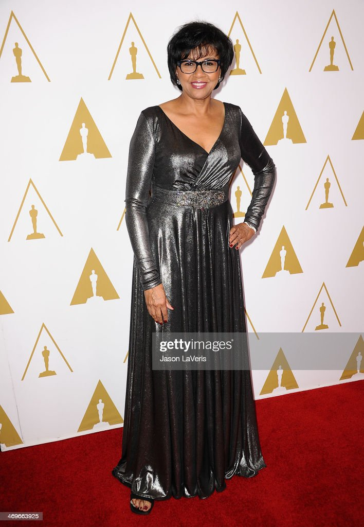 President of the Academy Of Motion Picture Arts and Sciences <a gi-track='captionPersonalityLinkClicked' href=/galleries/search?phrase=Cheryl+Boone+Isaacs&family=editorial&specificpeople=725500 ng-click='$event.stopPropagation()'>Cheryl Boone Isaacs</a> attends the Academy of Motion Picture Arts and Sciences' Scientific and Technical Awards ceremony at Beverly Hills Hotel on February 15, 2014 in Beverly Hills, California.