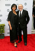 President of the Academy of Motion Picture Arts and Sciences Cheryl Boone Isaacs and producer Stanley Isaacs attend American Film Institute's 44th...