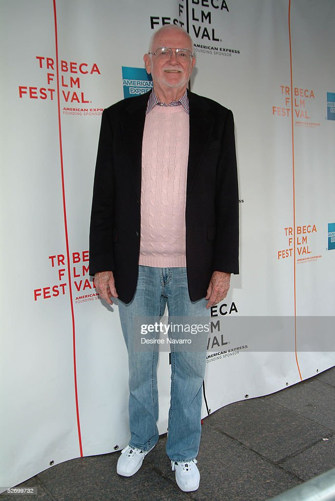 President of the Academy of Motion Pictures Arts and Science Frank Pierson attends the 'Based On A True Story' screening at the Tribeca Film Festival April 26, 2005 in New York City.