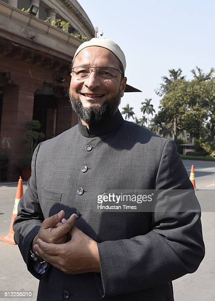 President of the All India MajliseIttehadul Muslimeen and threetime Member of Parliament representing the Hyderabad constituency in Lok Sabha...