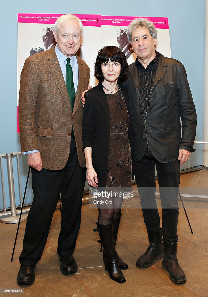 President of the Alliance for the Arts Randy Bourscheidt, director Nancy Buirski and Chairman and CEO of Kino Lorber Inc Richard Lorber attend the 'Afternoon Of A Faun' screening on February 3, 2014 in New York City.