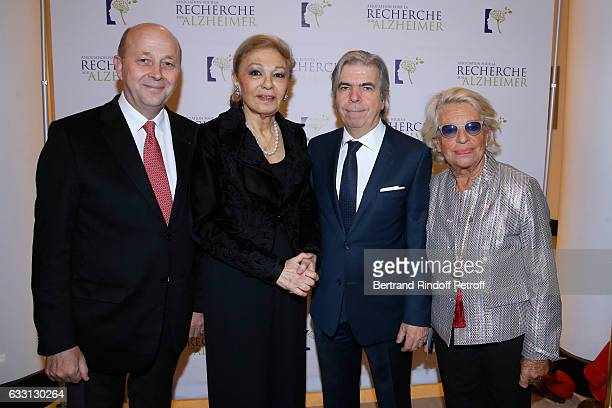 President of the Association for Alzheimer Research Doctor Olivier de Ladoucette Farah Pahlavi Chairman of the Scientific Committee of the...