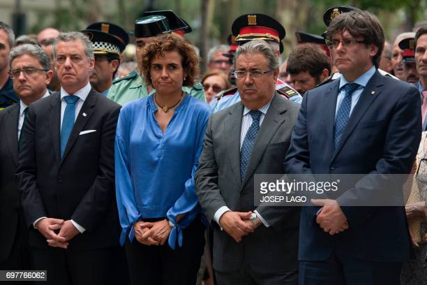 President of the Basque regional government Inigo Urkullu Spanish Minister of Health Social Services and Equality Dolors Montserrat Spanish Interior...