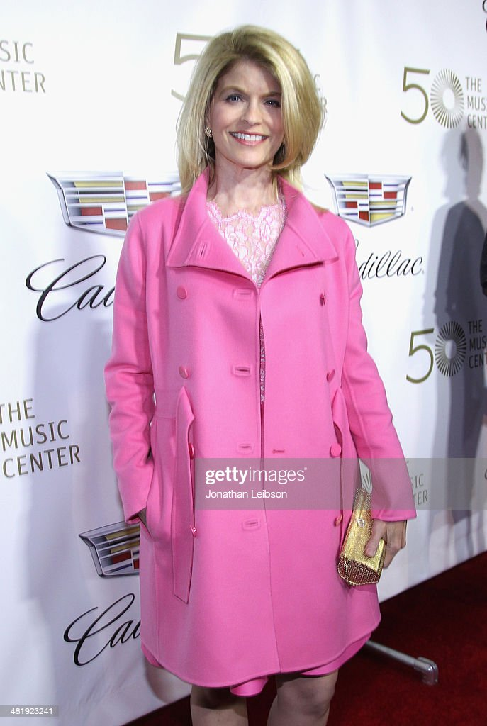 President of The Blue Ribbon Carla Sands arrives at The Music Center's 50th Anniversary Launch Party held at The Dorothy Chandler Pavilion on April 1, 2014 in Los Angeles, California.