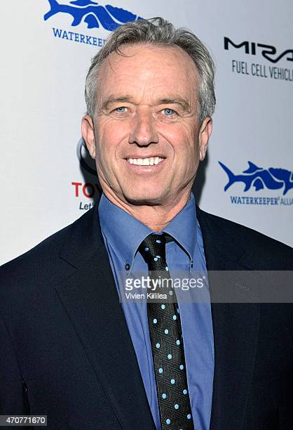 President of the Board of the Waterkeeper Alliance Robert F Kennedy Jr attends Keep It Clean To Benefit Waterkeeper Alliance Live Earth Day Comedy...