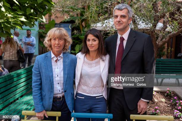 President of the Capitoline Tourism Commission Carola Penna Mayor of Rome Virginia Raggi and Councilor for Economic Development and Tourism of Rome...