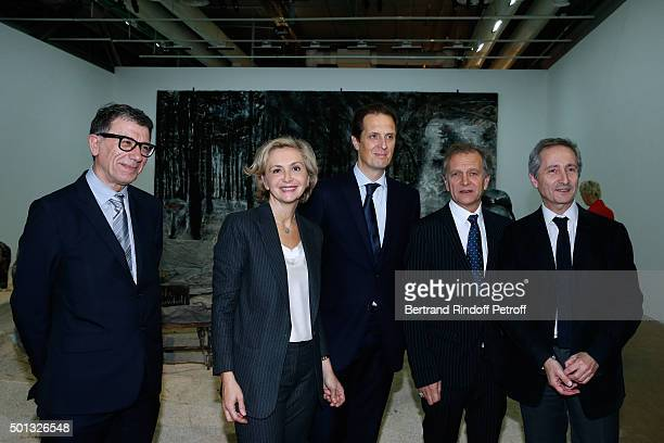 President of the Centre Pompidou Serge Lasvignes President of 'Region IledeFrance' Valerie Pecresse Politician Jerome Chartier Guest and Director of...
