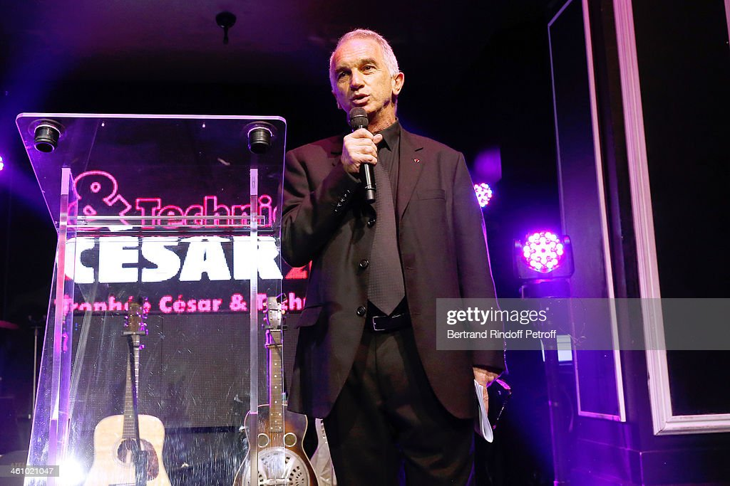 President of the 'Cesar', the French Academy Awards Alain Terzian attends the'Cesar et Techniques 2014' Award Ceremony at Club Haussmann on January 6, 2014 in Paris, France.