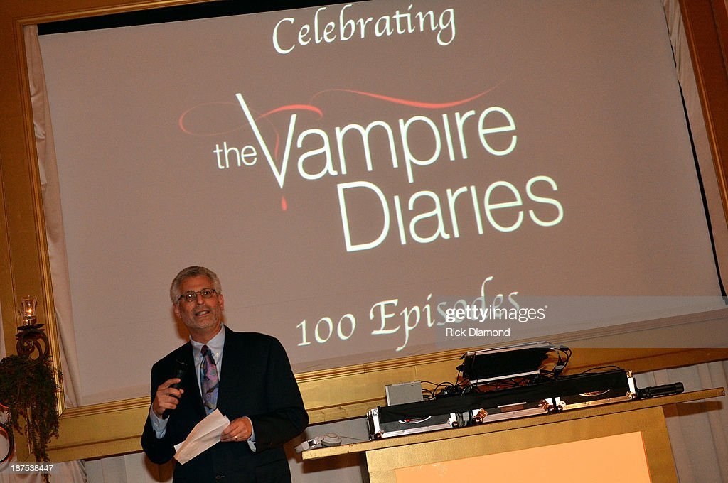 President of The CW Network Mark Pedowitz attends The Vampire Diaries 100th Episode Celebration on November 9, 2013 in Atlanta, Georgia.