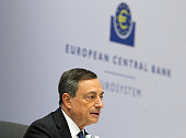 President of the European Central Bank Mario Draghi addresses a press conference following the meeting of the Governing Council in Frankfurt am Main...