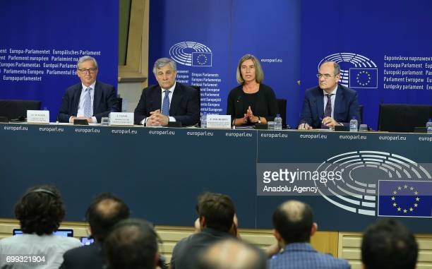 President of the European Commission JeanClaude Juncker High Representative of the Union for Foreign Affairs and Security Policy Federica Mogherini...