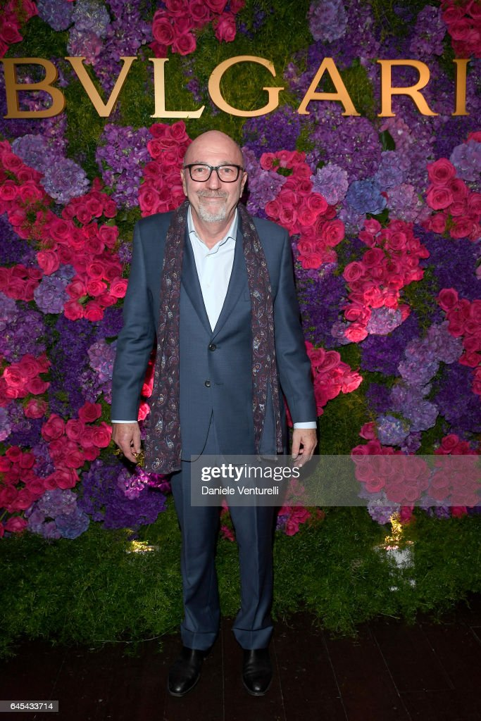 President of The Hollywood Foreign Press Association Lorenzo Soria attends Bulgari's Pre-Oscar Dinner at Chateau Marmont on February 25, 2017 in Hollywood, United States.