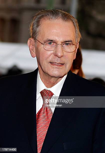 President of the IOC Jacques Rogge attends the Opening Ceremony of the 125th IOC Session at Teatro Colon on September 6 2013 in Buenos Aires Argentina