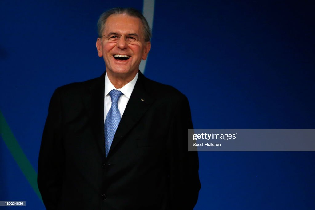 President of the IOC <a gi-track='captionPersonalityLinkClicked' href=/galleries/search?phrase=Jacques+Rogge&family=editorial&specificpeople=206143 ng-click='$event.stopPropagation()'>Jacques Rogge</a> makes his Closign Speech during the 125th IOC Session - IOC Presidential Election at the Hilton Hotel on on September 10, 2013 in Buenos Aires, Argentina.
