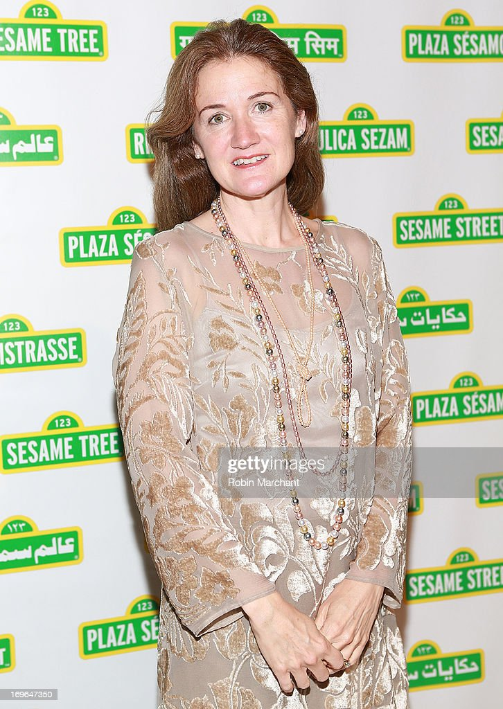 President of the Jim Henson Foundation, Cheryl Henson attends 11th Annual Sesame Street Workshop Benefit Gala at Cipriani 42nd Street on May 29, 2013 in New York City.