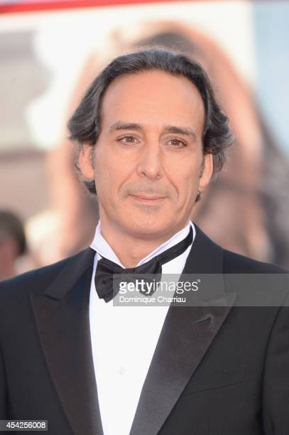 President of the Jury Alexandre Desplat attends the Opening Ceremony and 'Birdman' premiere during the 71st Venice Film Festival at Palazzo Del...