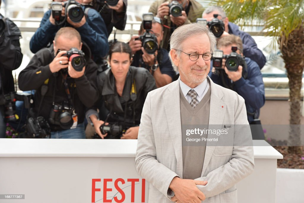 President of the Jury, director <a gi-track='captionPersonalityLinkClicked' href=/galleries/search?phrase=Steven+Spielberg&family=editorial&specificpeople=202022 ng-click='$event.stopPropagation()'>Steven Spielberg</a> attends the Jury Photocall at The 66th Annual Cannes Film Festival>> on May 15, 2013 in Cannes, France.