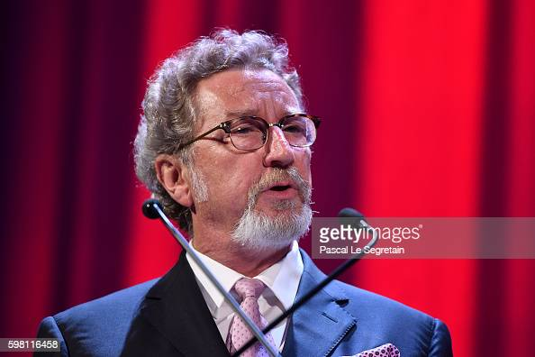 president of the jury 'ORIZZONTI' Robert Guediguian attends the opening ceremony during the 73rd Venice Film Festival at Sala Grande on August 31...
