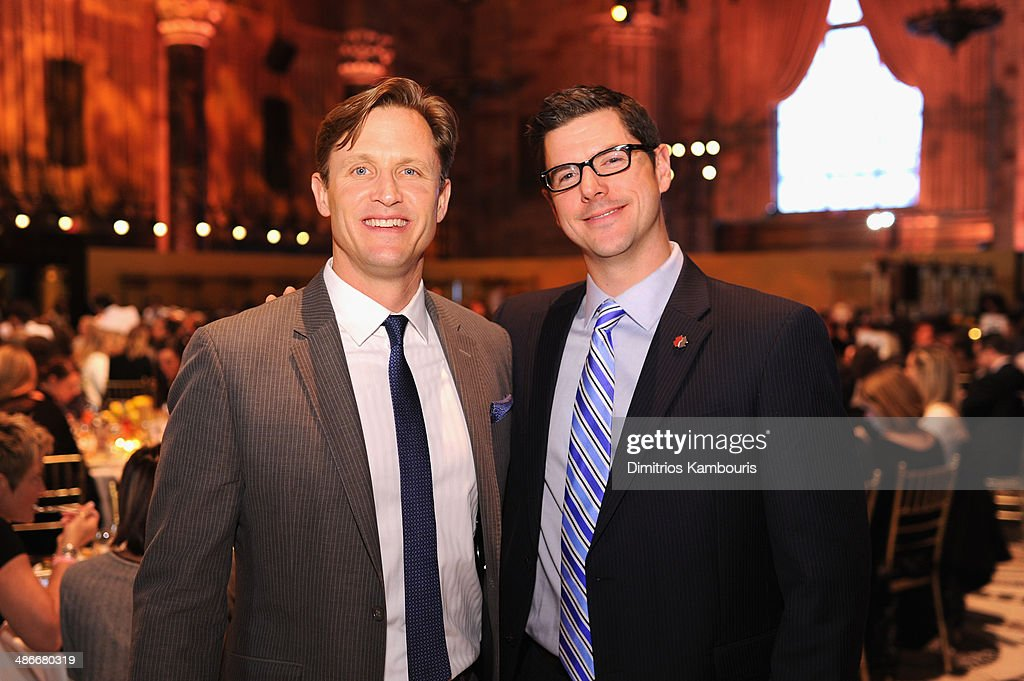 President of The Mission Continues Spencer Kympton and Mike Lee of Team Rubicon attend Variety Power Of Women New York presented by FYI at Cipriani...