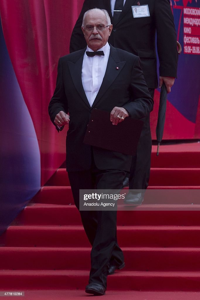 President of the Moscow International Film Festival Nikita Mihalkov is seen during at the opening ceremony of the 37th Moscow International Film...