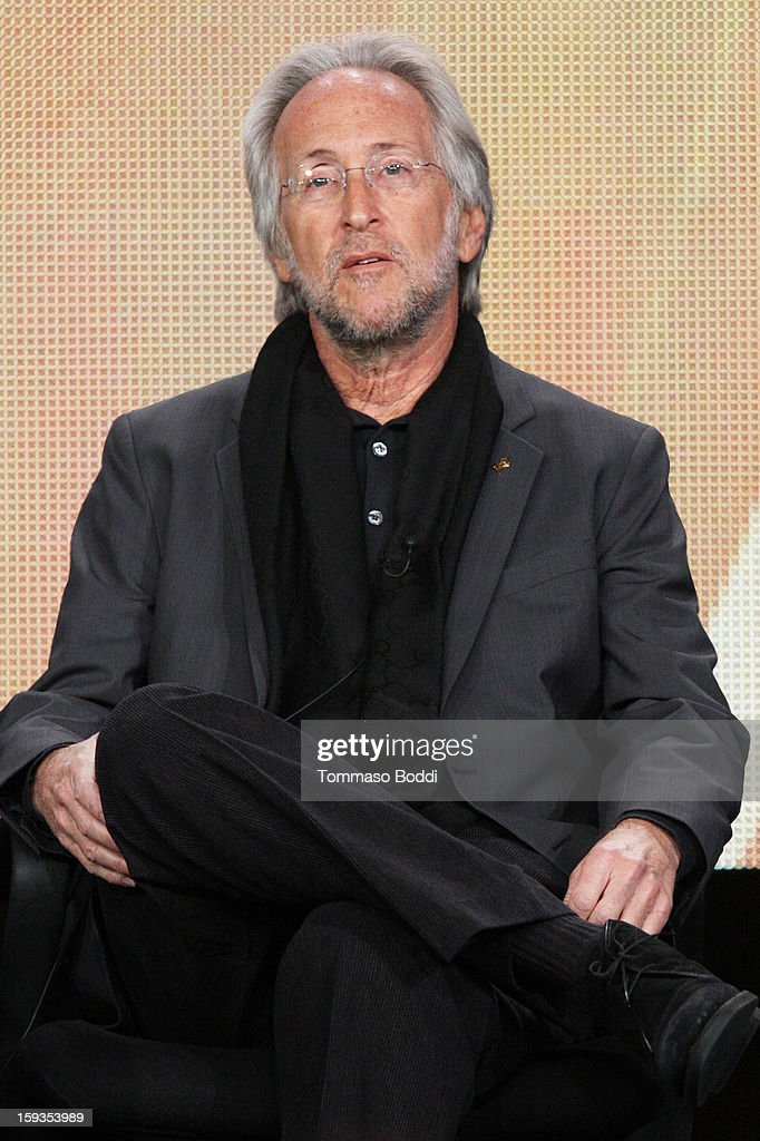 President of the National Academy of Recording Arts and Sciences Neil Portnow of the TV show 'The 55th Annual Grammy Awards' attends the 2013 TCA Winter Press Tour CW/CBS panel held at The Langham Huntington Hotel and Spa on January 12, 2013 in Pasadena, California.