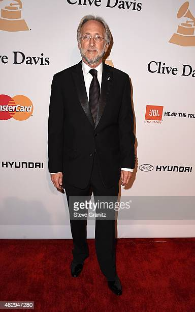 President of the National Academy of Recording Arts and Sciences Neil Portnow attends the PreGRAMMY Gala and Salute To Industry Icons honoring Martin...