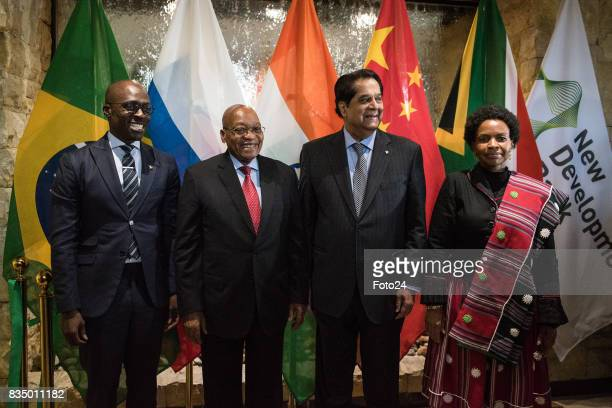 President of the New Development Bank Mr KV Kamath Minister of International Relations and Cooperation Maite NkoenaMashabane Minister of Finances...