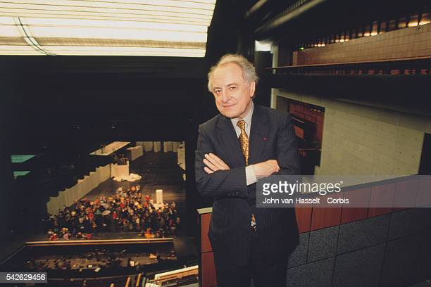 President of the Opera Bastille Pierre Berge in Paris