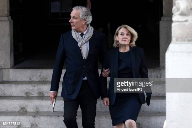 President of the public establishment of the castle the museum and the national domain of Versailles Catherine Pegard attends the Liliane...