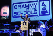 President of The Recording Academy Neil Portnow at the GRAMMY Foundation's 6th annual GRAMMY In The Schools Live benefit concert featuring Hunter...